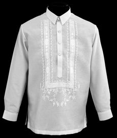 How to Buy White Barong Tagalog - Barongs R us - Barongs R us Semi Formal Wear, Formal Coat, Barong Tagalog, Filipiniana Dress, Beach Wedding Attire, Line Shopping, Black Dress Pants, Style Guides, Casual Looks