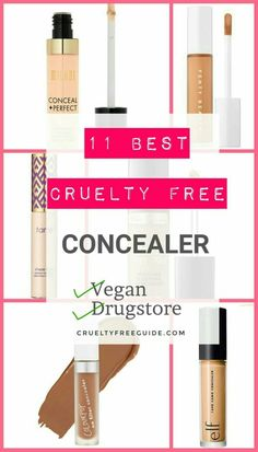 11 Best Cruelty Free Concealer – Vegan Included – Cruelty Free Guide 11 Best Cruelty Free Concealers with Drugstore & Vegan options😍 Cruelty Free Makeup 😃 Drugstore Concealer, Best Concealer, Cruelty Free Drugstore Makeup, Vegan And Cruelty Free Makeup, Colourpop Cosmetics, Spring Makeup, Vegan Beauty, Natural Cleaning Products, Makeup Brands
