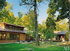 Contemporary Exterior and Steve Mensch in Rhinebeck, New York