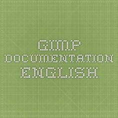 gimp documentation english