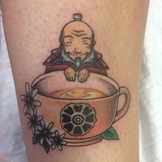 Avatar: The Last Airbender Uncle Iroh Tattoo