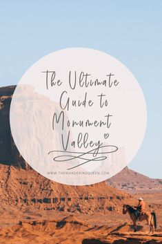 The Ultimate Guide to Monument Valley   Arizona   Utah   Navajo Tribe   Buttes   Desert   Travel   USA   The View Hotel   Valley Drive   Lone Rider   Three Sisters Overlook   John Ford's Point Overlook   The Hub   Bird Spring  Totem Pole   Yei Bi Chei   West Mitten Butte   Merrick Butte   East Mitten Butte   Sentinel Mesa   West Mitten Butte   Big Indian   Merrick Butte   Castle Rock-Stagecoach group