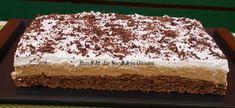Prajitura cu blat de nuca si crema de cafea - Bunătăți din bucătăria Gicuței Tiramisu, Biscuit, Ethnic Recipes, Sweets, Crackers, Tiramisu Cake, Biscuits, Sponge Cake, Cake