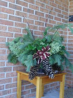 winter urn small
