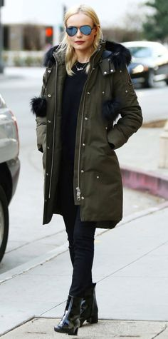 Kate Bosworth How to Wear a Parka be6ad37cd