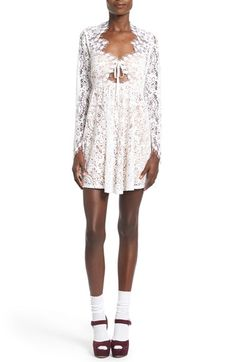 For Love & Lemons 'Charlie' Lace Minidress