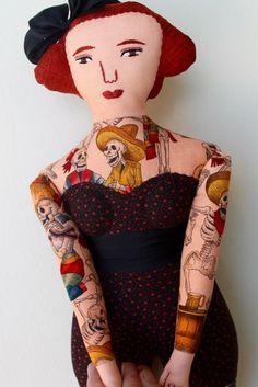 Next Tuesday afternoon on April 26th, we're delighted to feature a very special guest on Periscope! Mimi Kirchner is my friend and an artist who creates hand-made dolls from vintage fabrics. Her dolls—well-known for their toile tattoos—have been featured at West Elm and Land of Nod. You can read more about Mimi in an article …