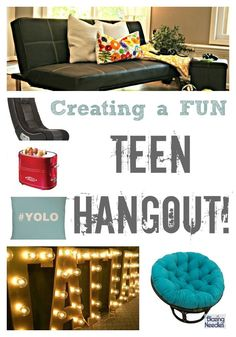 Create a fun teen hangout just for them!