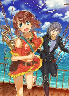 Amy and Ledo    ~Suisei no Gargantia