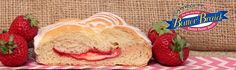 Strawberry & Cream Cheese Butter Braid pastry #ButterBraid #Pastry #Strawberry #CreamCheese