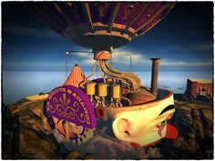 Creators (Beq Janus/Polysail) maps.secondlife.com/secondlife/Anansi/26/130/74