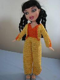 donnascrochetdesigns.com printerfriendlythree free-crochet-pattern-fashion-doll-pants-jacket-and-shirt.html