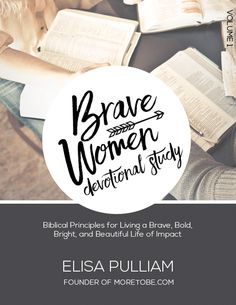 The Brave Women Manifesto, which is a collection of 52 biblical principles, offers a simple way to meditate on and apply Scriptures to everyday life in the journey of becoming braver, bolder, brighter, and more beautiful, more like Christ, through seeking to apply the Scriptures to every day life. In this particular resource, you get the first 10 principles from the Brave Women Manifesto in a study format. Click through to learn more!