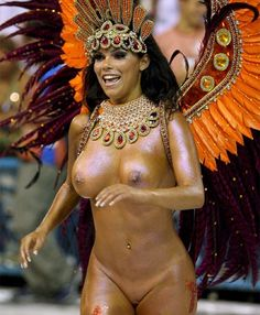 бразилия карнавал голая