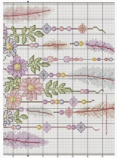 dreamcatcher cross stitch chart by AmandaGCrossStitch on Etsy Cross Stitch Bookmarks, Cross Stitch Books, Cross Stitch Cards, Cross Stitch Baby, Counted Cross Stitch Patterns, Cross Stitch Designs, Cross Stitching, Butterfly Cross Stitch, Beaded Cross Stitch