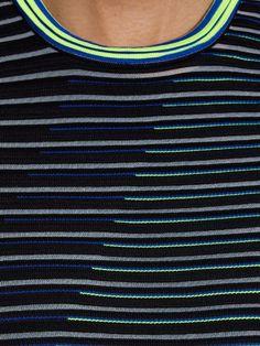 Alexander Wang Striped technical-knit dress