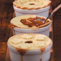 Comfort Food Chili Recipes from Taste of Home, including Chili Potpies Recipe