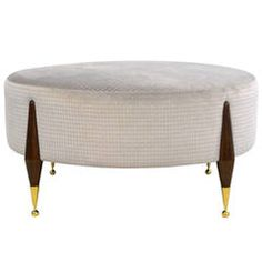 Imperial Ball Foot Ottoman or Coffee Table