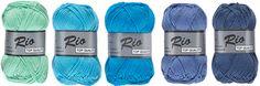 Rio par Lammy Yarns Pelotte de Laine - Différents coloris