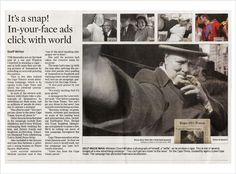 "It's a snap! More about our ""Selfies"" campaign for the Cape Times."