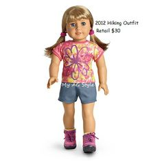 American Girl Doll Hiking Outfit