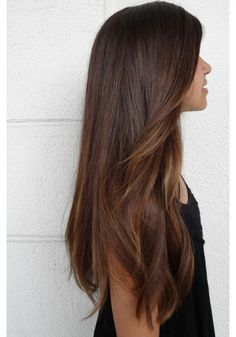 #Hair color balayage caramel