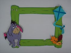 Scrappy Vee - Page Frames - Cricut Pooh & Friends