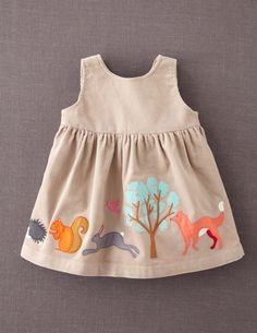Appliqué Apron Pinnie