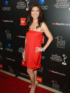 2014 Daytime Emmy Awards: Julie Chen and her fellow The Talk hosts were nominated for outstanding talk show/entertainment. They also presented during the show