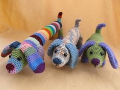 Dog Crochet Amigurumi Pattern