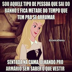 Eu!-Fico horas as veses e só depois percebo! Disney Memes, Disney Quotes, Dankest Memes, Funny Memes, Life Rules, Smiles And Laughs, Try Not To Laugh, Me Too Meme, I Laughed