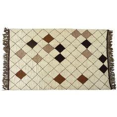 Large Handwoven Moroccan Rug | 1stdibs.com