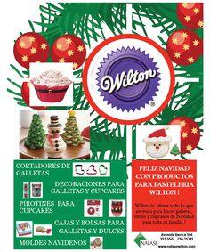 NAFASE S.R.L. - WILTON: Feliz Navidad con productos para pastelería WILTON