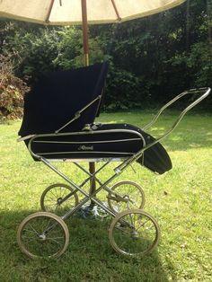 Vintage coach built Royale babies pram | eBay
