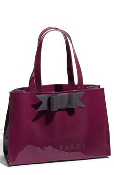 Ted Baker Bow Icon Patent Jelly Tote  I LOVE LOVE LOVE THIS
