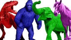 Color Animals Finger Family | Colors Songs | Finger Family Songs | Nursery Rhymes For Children https://youtu.be/8OjBiaJYVZ4
