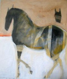Helen Durant: Bound, acrylic on canvas, 49 x 41 inches. At Thomas Deans Fine Art: A Holiday Menagerie, Nov 22 - Jan 2014 Animal Paintings, Horse Paintings, Pastel Paintings, Watercolor Horse, Horse Drawings, Historical Art, Equine Art, Wildlife Art, Horse Art