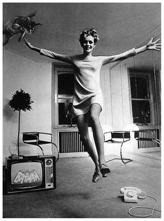Twiggy by Helmut Newton, 1967