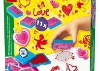 Set stampile love   Bebeart Love Stamps, Creative Play, Cute Crafts, Fine Motor Skills, Concept, Kids, Young Children, Boys, Motor Skills