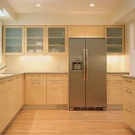 Before we get to talk about bamboo cabinets, let's find out more about the raw material of these bamboo kitchen cabinets. L Shaped Kitchen Cabinets, Kitchen Cabinets Showroom, Kitchen Cabinets Pictures, Custom Kitchen Cabinets, Custom Kitchens, Kitchen Doors, Kitchen Ideas, Barn Kitchen, Bathroom Cabinets