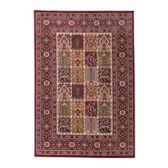 """IKEA - VALBY RUTA, Rug, low pile, 4 ' 4 """"x6 ' 5 """", , Durable, stain resistant and easy to care for since the rug is made of synthetic fibers.The thick pile dampens sound and provides a soft surface to walk on."""