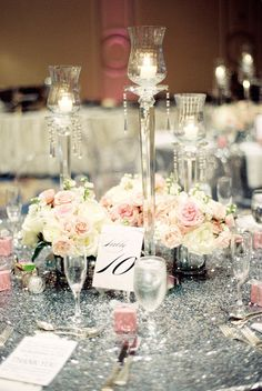 wedding centerpiece idea; photo: Nancy Aidee Photography