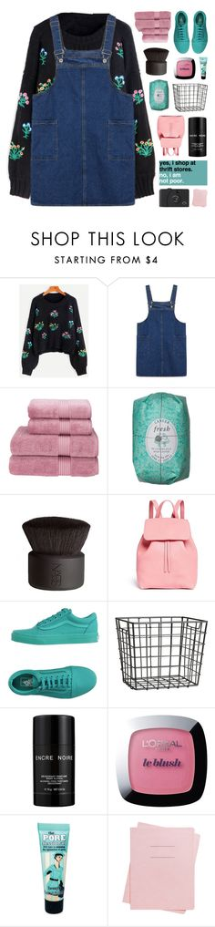 """""""IT WILL ALL BE ALRIGHT"""" by emmas-fashion-diary ❤ liked on Polyvore featuring Christy, NARS Cosmetics, Mansur Gavriel, Vans, H&M, Lalique, L'Oréal Paris, Benefit and Shinola"""