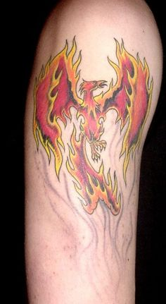phoenix rising from the ashes tattoo | rise_from_the_ashes ...