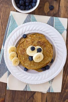 These look fabulous! Banana Egg Almond Butter Pancakes {Grain-Free, Dairy-Free} - Meaningful Eats