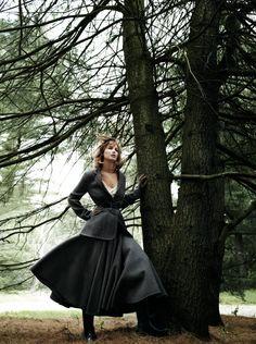 American Vogue, Jennifer Lawrence, September 2013 | Mario Testino