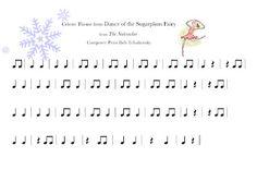 Teaching Music: Tanya's Kodály Aspiring Blog: Dance of the Sugar Plum Fairy Play-a-long