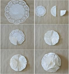 Paper Doily Crafts Paper Doily Crafts Pom Pom Tutorial Craft Projects And Ideas Doilies Paper DoilyPom Pom Tutorial by Petticoats & PeplumsYou will love this cute paper doily flowers diy and they are so easy to recreate and look great. Paper Doily Crafts, Paper Lace Doilies, Doilies Crafts, Diy Paper, Diy Flowers, Fabric Flowers, Paper Flowers, Pom Pom Tutorial, Flower Tutorial
