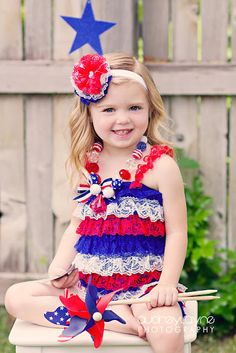 toddler girl 4th july clothing