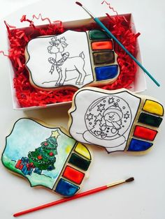 Paint Your Own Cookie from Treat Me Sweet Cookies as featured in VSM Handcrafted Designs December 2014 Newsletter